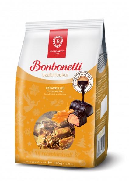 Bonbonetti Szaloncukor Weihnachtspralinen,Karamellgeschmack 345g