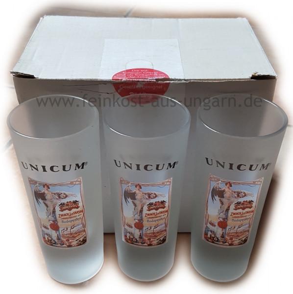 "Unicum Gläser 6er SET ""Destillerie"""