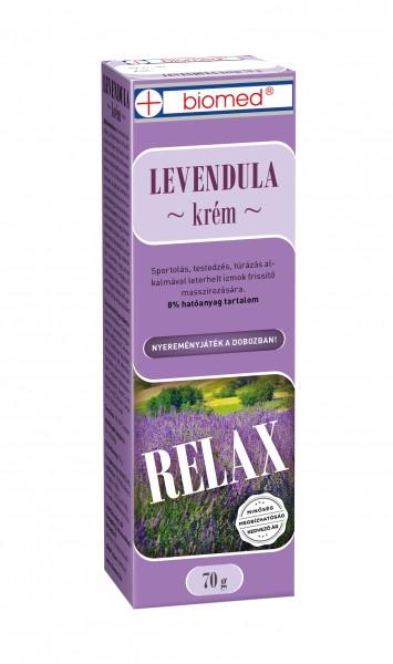 BIOMED Echte Lavendel Creme 70 g