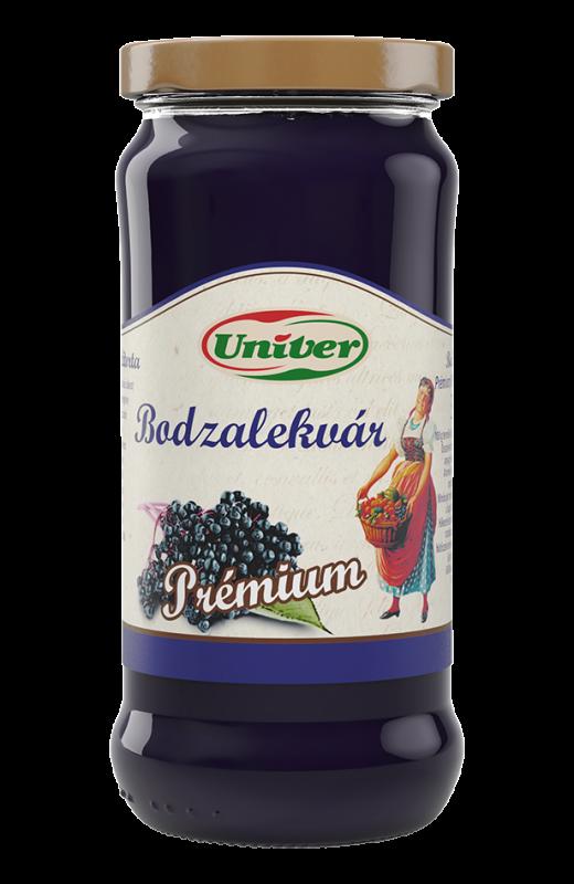 Kecskeméti Bodzalekvár - Holundermarmelade - original ungarisches Erzeugnis