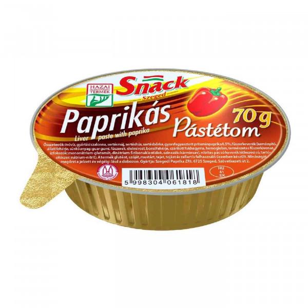 Pastete mit Paprika   70g