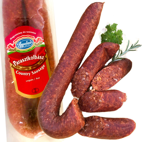 Herzhafte ungarische Bauernwurst
