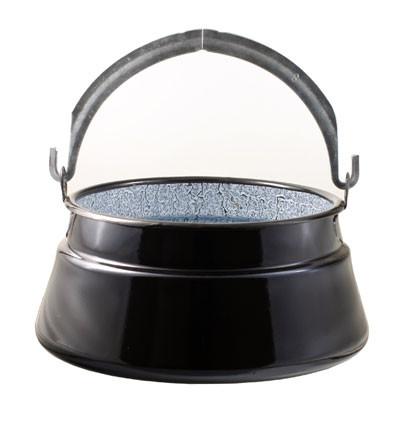 Fischsuppekessel emailliert 8 Liter
