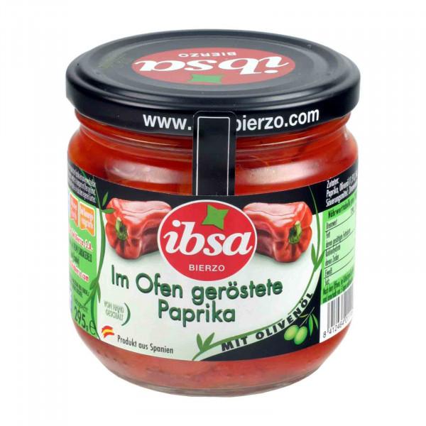 Im Ofen geröstete Paprika