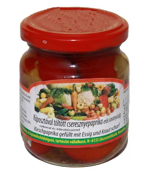 Kirschpaprika gefüllt 6 x 220ml