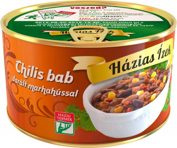 Chilibohnen mit Rindfleisch