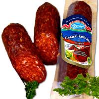 scharfe ungarische Paprika Salami, Csabai Kolbasz csipös - 250g