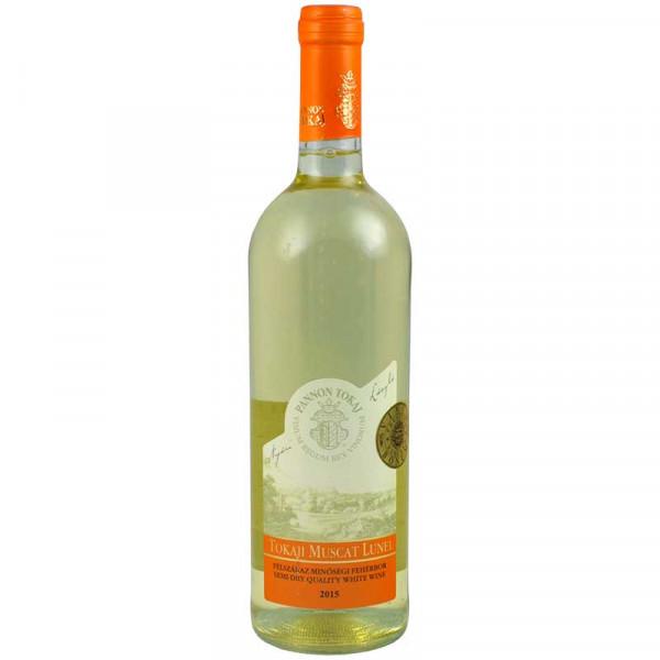 Tokaji Muscat Lunel Weißwein, halbtrocken - Jahrgang 2015