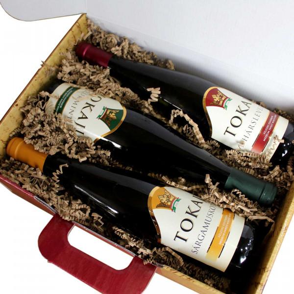 3er Weinprobe mit Tokajier Weinen