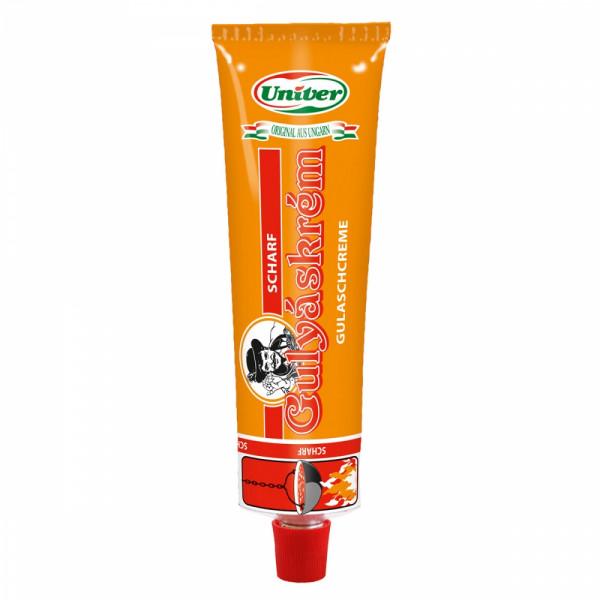 scharfe Paprikacreme für Kesselgulasch