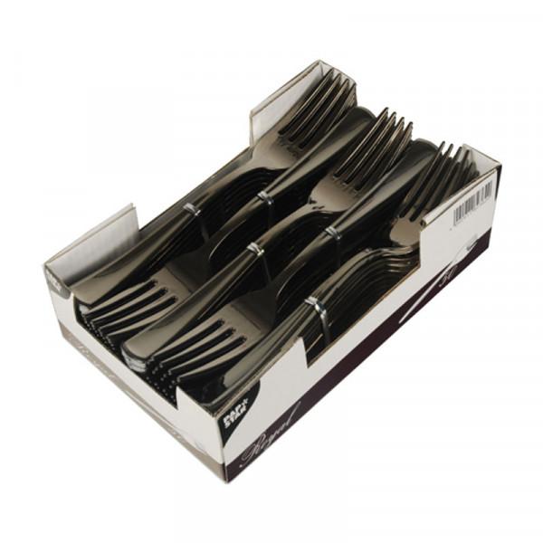 50 Gabeln, PS metallisiert 18,5 cm