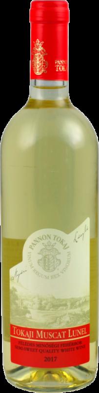 Tokaji Muscat Lunel Weißwein, lieblich / 0,75 l Flasche