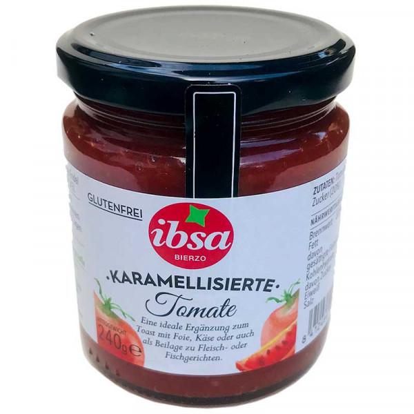 Karamellisierte Tomate