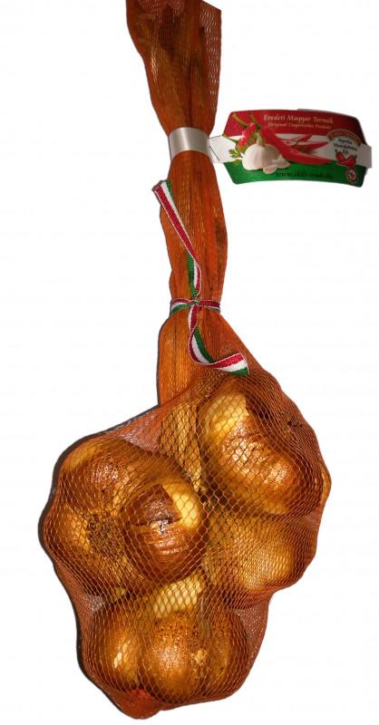Knoblauch geräuchert original ungarisch 5 Knollen CHILI-TRADE