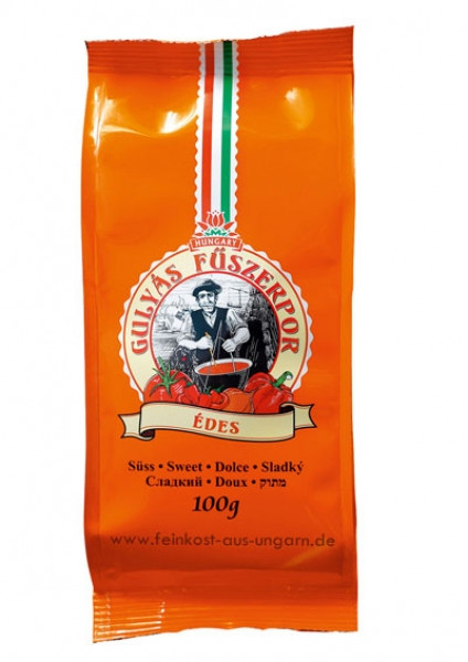 Gulaschgewürzpulver aus Kalocsa mild/süss 100g