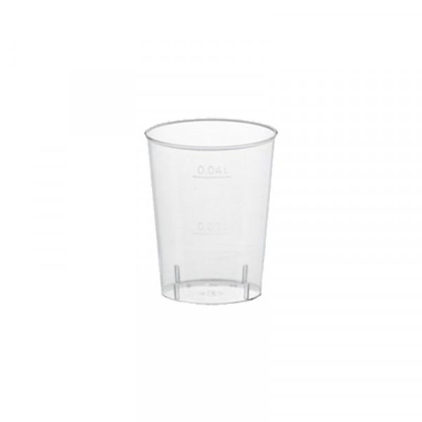 40 Schnapsgläser PS 4 cl - glasklar