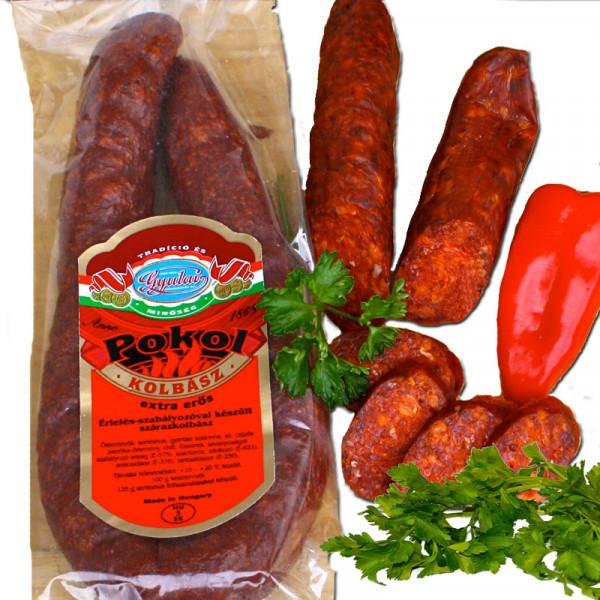 scharfe ungarische Salami
