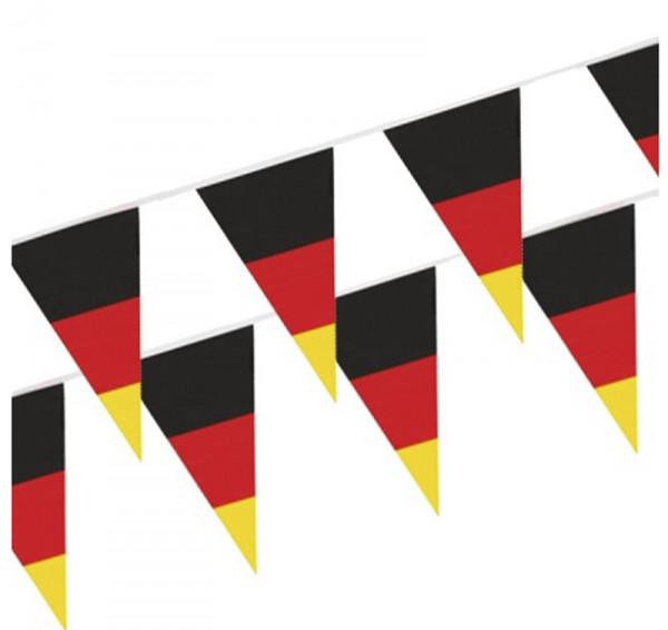 """Wimpelkette, Folie 4 m """"Germany"""" wetterfest"""