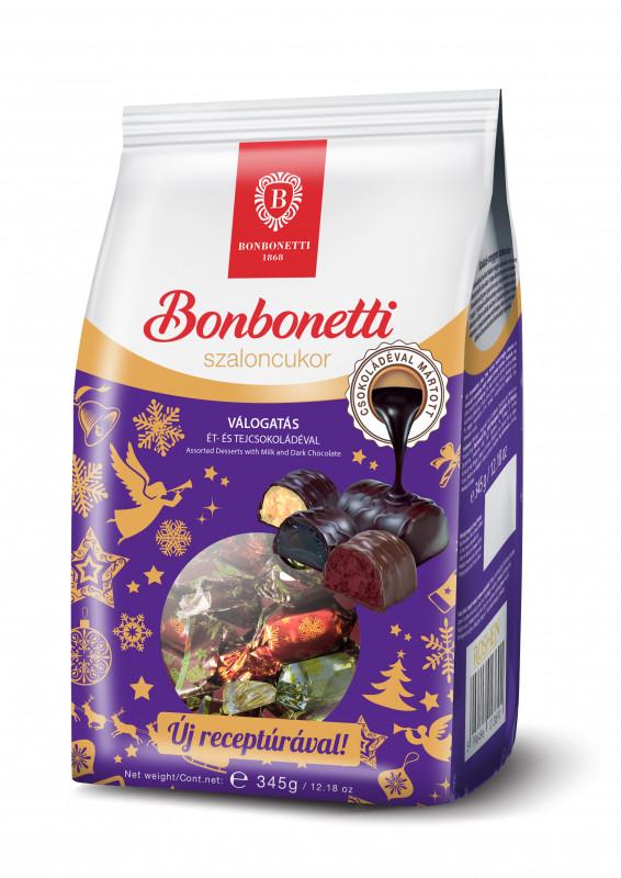 Bonbonetti Válogatás 345g | Szaloncukor