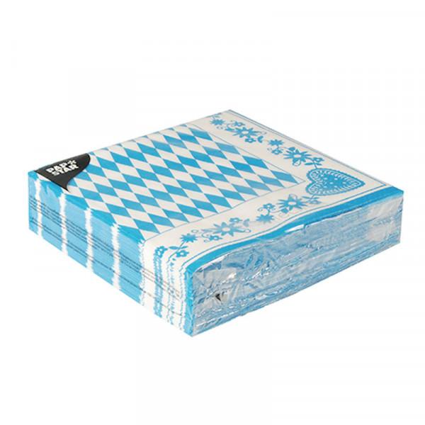 Dekoservietten - Bayrisch blau - 30 x 30 cm